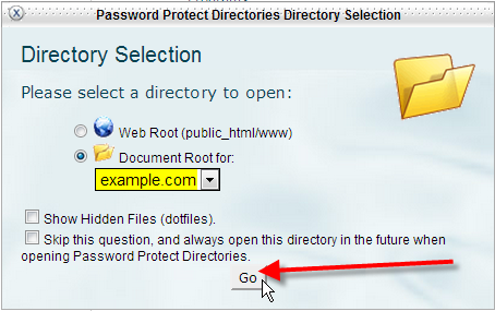 select-document-root-click-go